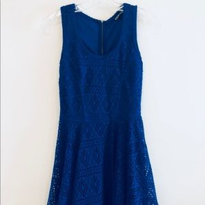 Express Fit and Flare Racer-back Dress Size XS